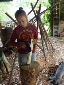 feathering green woodworking
