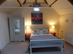 Bridesmere's double bedroom with kings bed